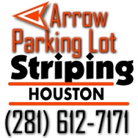 Arrow Parking Lot Striping