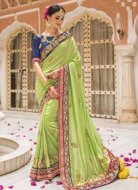 Green Silk Bridal Sarees