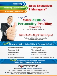 Sales Psychometric Test