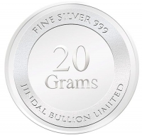 20 Gram Silver Coin