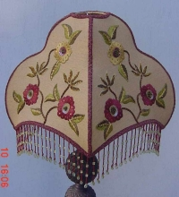 Hand Embroidered Lamp Shade