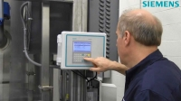Siemens SITRANS F US clamp-on ultrasonic flowmeter