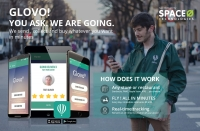 Glovo iPhone & Android App for Courier Delivery