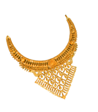 Gold Necklace ( Chick Haar )