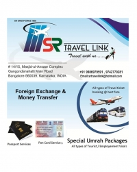 All types of Domestic & International Ticketing