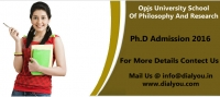 OPJS University School Of Philosophy And Research,