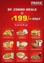 Special Combo Meals Offer, Ahmedabad