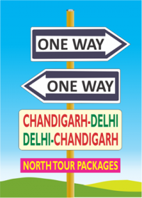 Delhi to Chandigarh taxi booking online