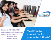 Thesis Guidance and Online writing help for m.tech