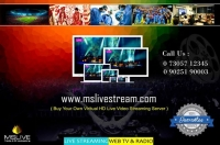 Online Live Streaming Server Chennai | Dedicated