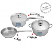 United Ucook Lifetime Stainless Steel Cookware