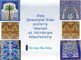 Blue Pottery Murals