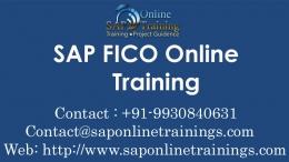 SAP Fico Online Training-Mumbai