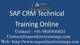 Sap CRM Online Training Course- Mumbai