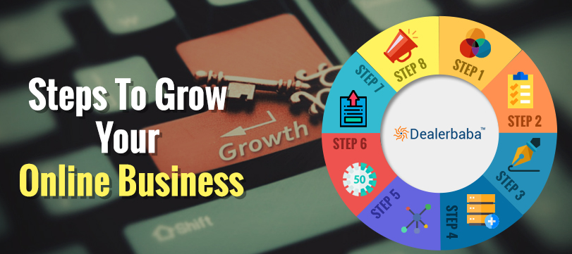10 Steps that help you to grow your online business