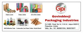 Paper Composite Cans & Self Adhesive Tape