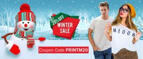 Winter sale on winter dresses