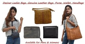 Get low cost original leather bags