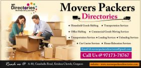 Packers and Movers in India - Movers Packers Directories