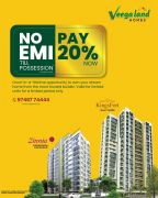 Pay 20% Now | No EMI Till Possession