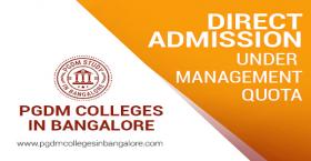 Post Graduate Diploma Management Admission in Bangalore 2020-21