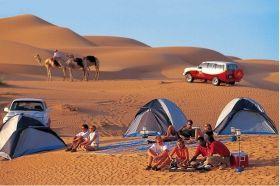 Maharaja Desert safari view camp