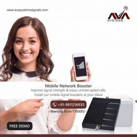 Free Demo of Mobile Network Signal Booster in Delhi