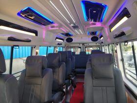 12 Seater Maharaja Tempo Traveller On Rent In Delhi