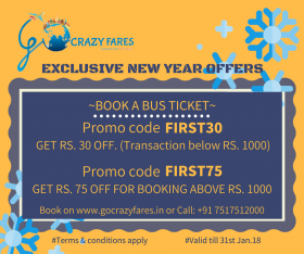Book Bus Tickets Online, Online Bus Tickets Booking, Bus Tickets Booking Online | GoCrazyFares