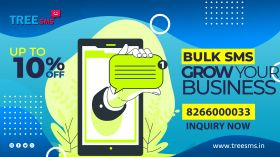 Get 10% off on All bulk SMS service all over India
