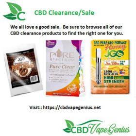 CBD Clearance/Sale