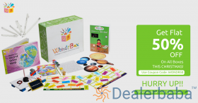 Flat 50% on all Activity Box for Kids