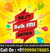 Buy 1 lac bulk sms with email