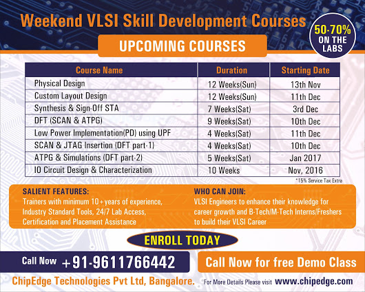 ChipEdge - Professional VLSI Training Company in India