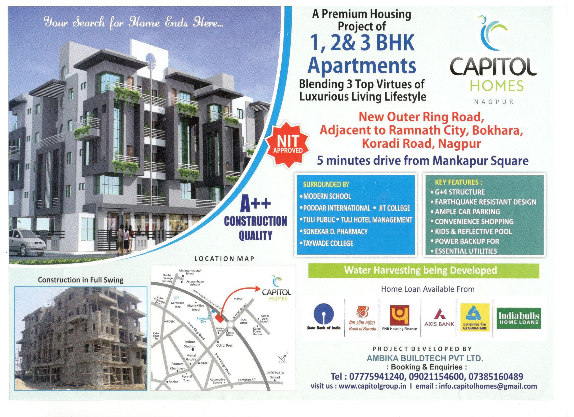 Capitol Homes Nagpur
