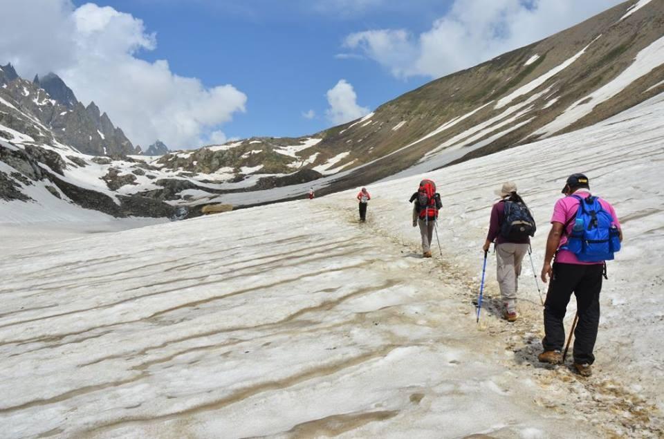 trekkashmir mountain travel