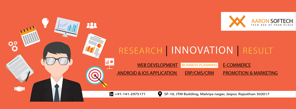 Aaron Softech- Web design, software development and seo company Jaipur