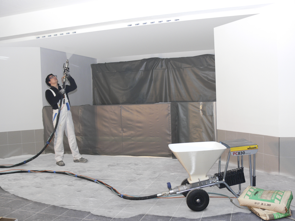 Plaster Spray Machines: For Better Finish and Application