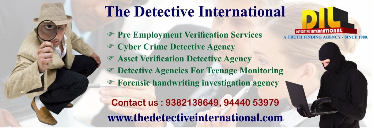 Private Detective Agency in Chennai