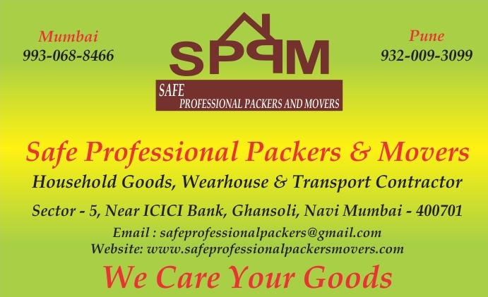 safe professional packers & movers