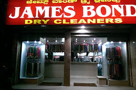 James Bond Dry Cleaners