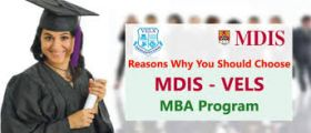 MDIS Vels International MBA College