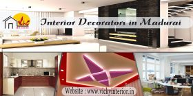 Vicky Interior Specialized in Madurai