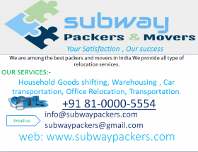 Subway packers and Movers