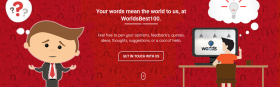 Worlds Best 100 Blogs
