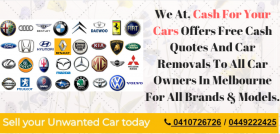 Cash For Your Cars Melbourne