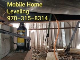 Mobile Home Leveling