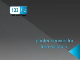 123hp printer service