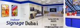 Signage company Dubai | Indoor & Outdoor Signage c