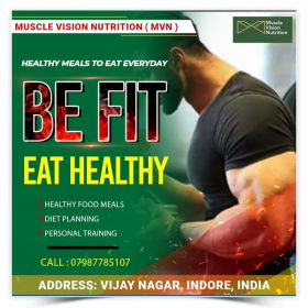 muscle Vision Nutrition, Healthy Meal, healthy food Delivery